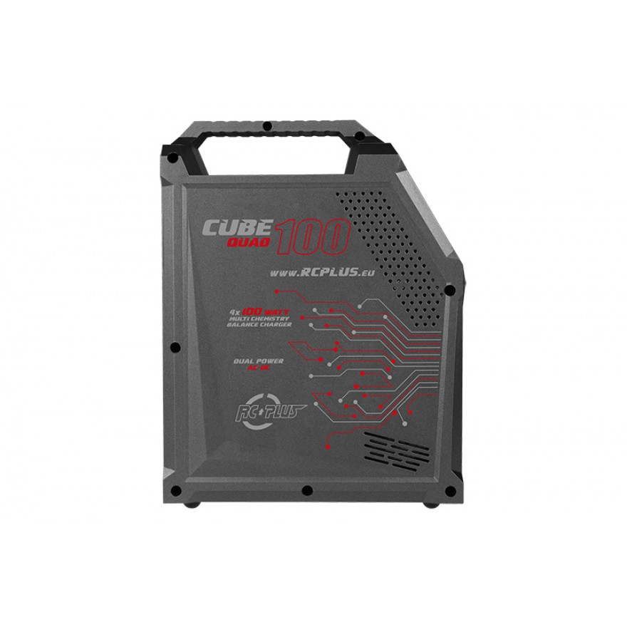Rc Plus - Cube 100 Quad Charger - AC-DC - 4x 100 Watt