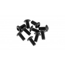 Button Head Screw 3x6mm (10) (ARAC9778)
