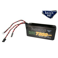 Killer RC 7200mAh 7.4v LiPo RX Battery Pack
