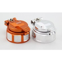 Tankdeckel GTB Racing mit Sinterfilter Orange