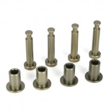 Front King Pins & Arm Bushings, Alum. 5IVE-T wie LOSB2074
