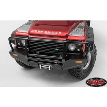 Metal Front Winch Bumper for Traxxas TRX-4 Land Rover Defend RC4WD