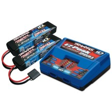 DUAL EZ-PEAK PLUS-LADER 2972G + 2X 2S LIPO 7600MAH 2869X TRAXXAS EU-VERSION / ERGÄNZUNGS-PAKET VERSION 2018
