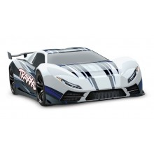 TRAXXAS X0-1 Supercar weiß RTR ohne Akku/Lader 1/7 4WD Onroad Speed-Car Brushless