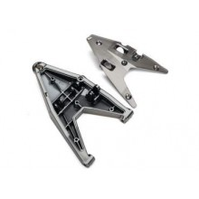 Traxxas Querlenker Unten Links Satin Schwarz Chrome